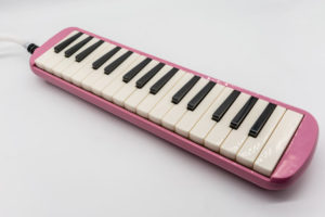 Pink beginner melodica